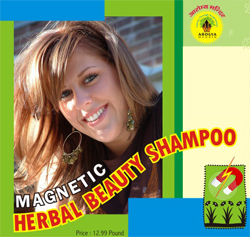 MAGNETIC HERBAL BEAUTY SHAMPOO